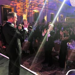 20. Heropreneurs Awards   Keynote Speaker veteran Stewart Hill gets a standing ovation