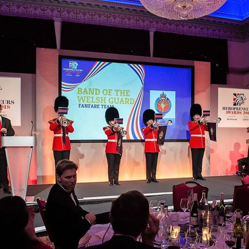 33. Heropreneurs Awards   Band of the Welsh Guard
